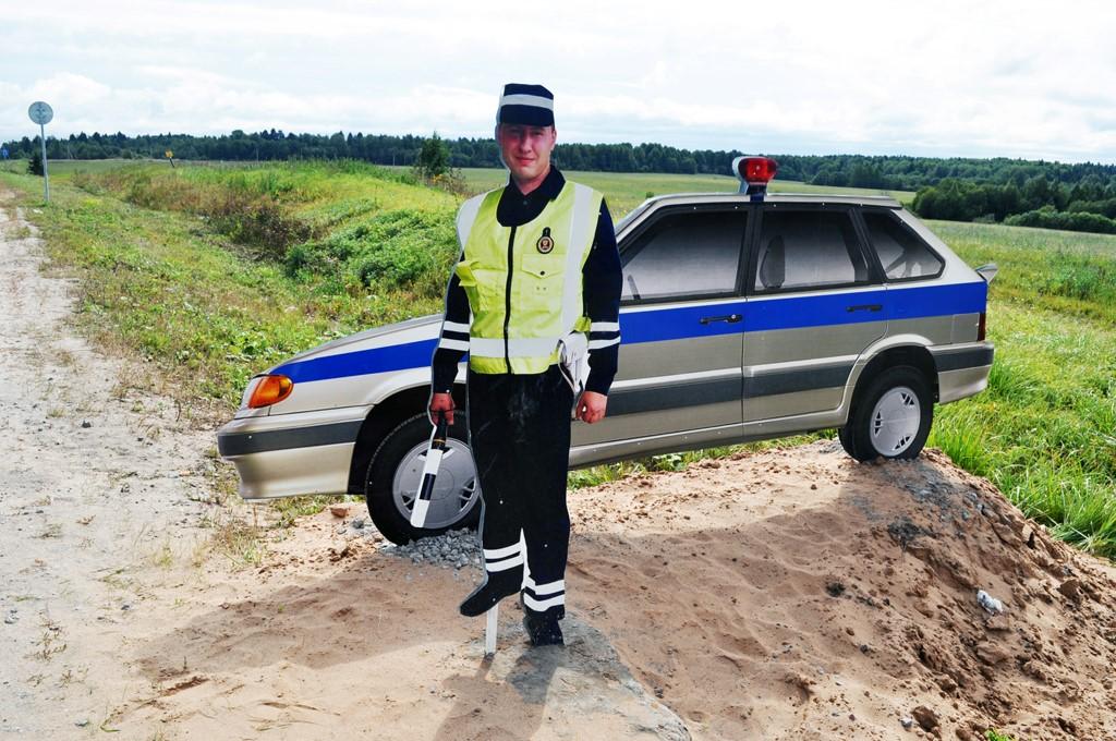 Ростовая фигура полицейского | фото 2