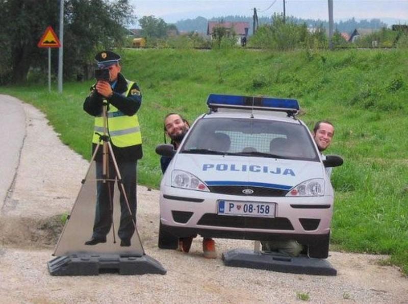 Ростовая фигура полицейского | фото 1