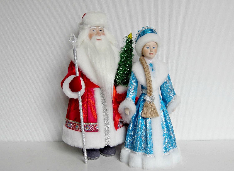 Ростовая фигура дед мороз и Снегурочка   фото 1