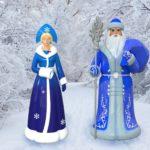 Ростовая фигура дед мороз и Снегурочка   фото 8