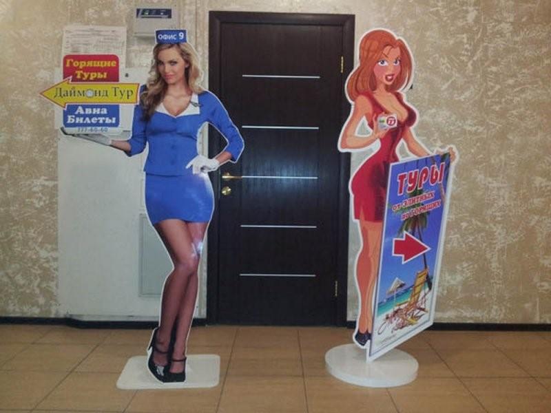 Ростовые фигуры девушек   фото 6