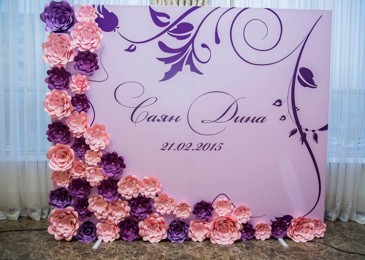Баннеры на свадьбу   фото 8