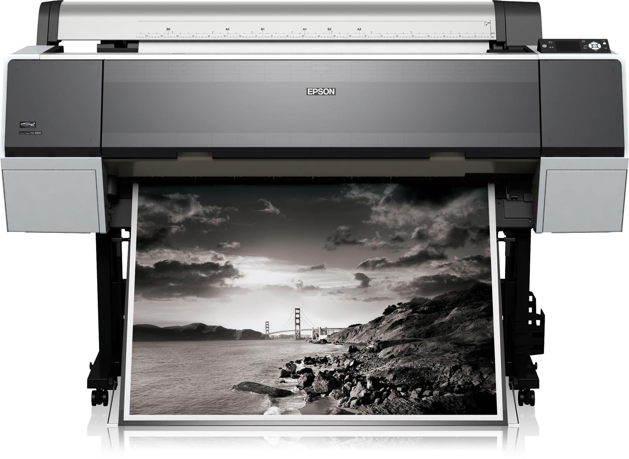 Черно-белая широкоформатная печать   фото 1