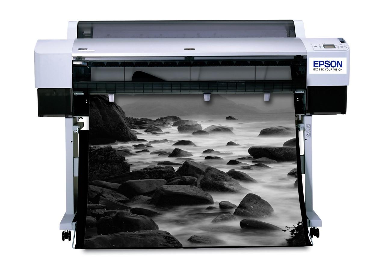 Черно-белая широкоформатная печать   фото 4