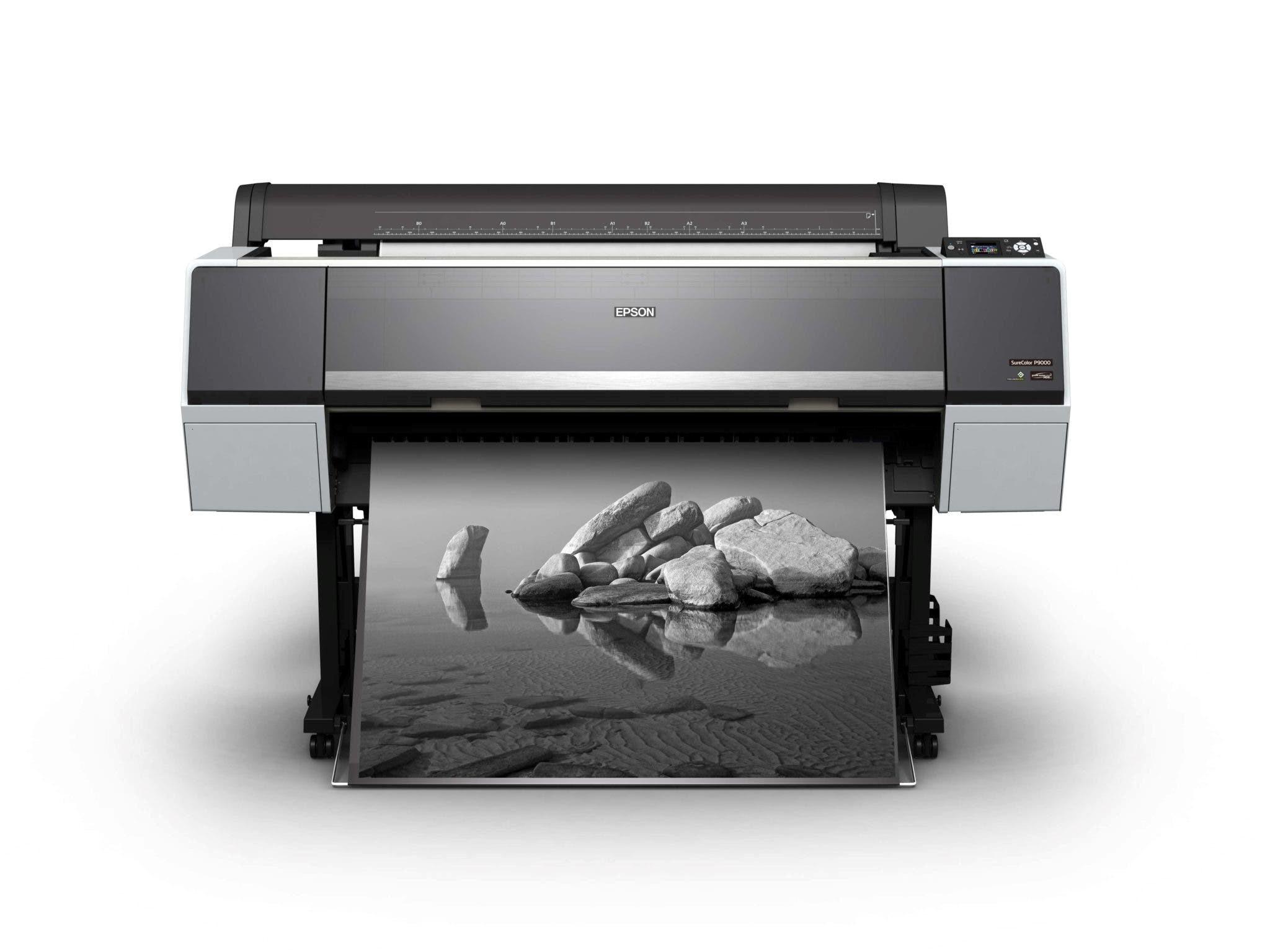 Черно-белая широкоформатная печать   фото 6