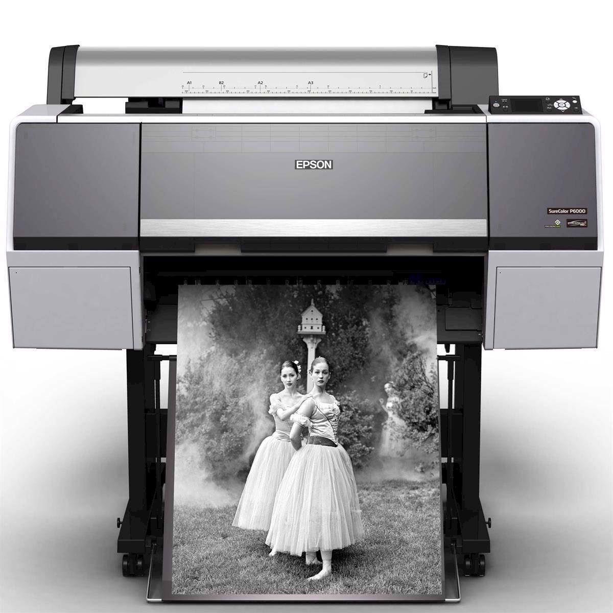 Черно-белая широкоформатная печать   фото 7