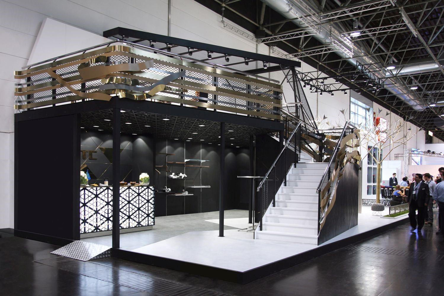 Двухэтажные выставочные стенды | фото 3