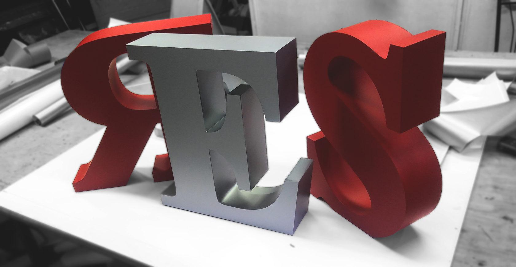 Изготовление объемных букв   фото 4