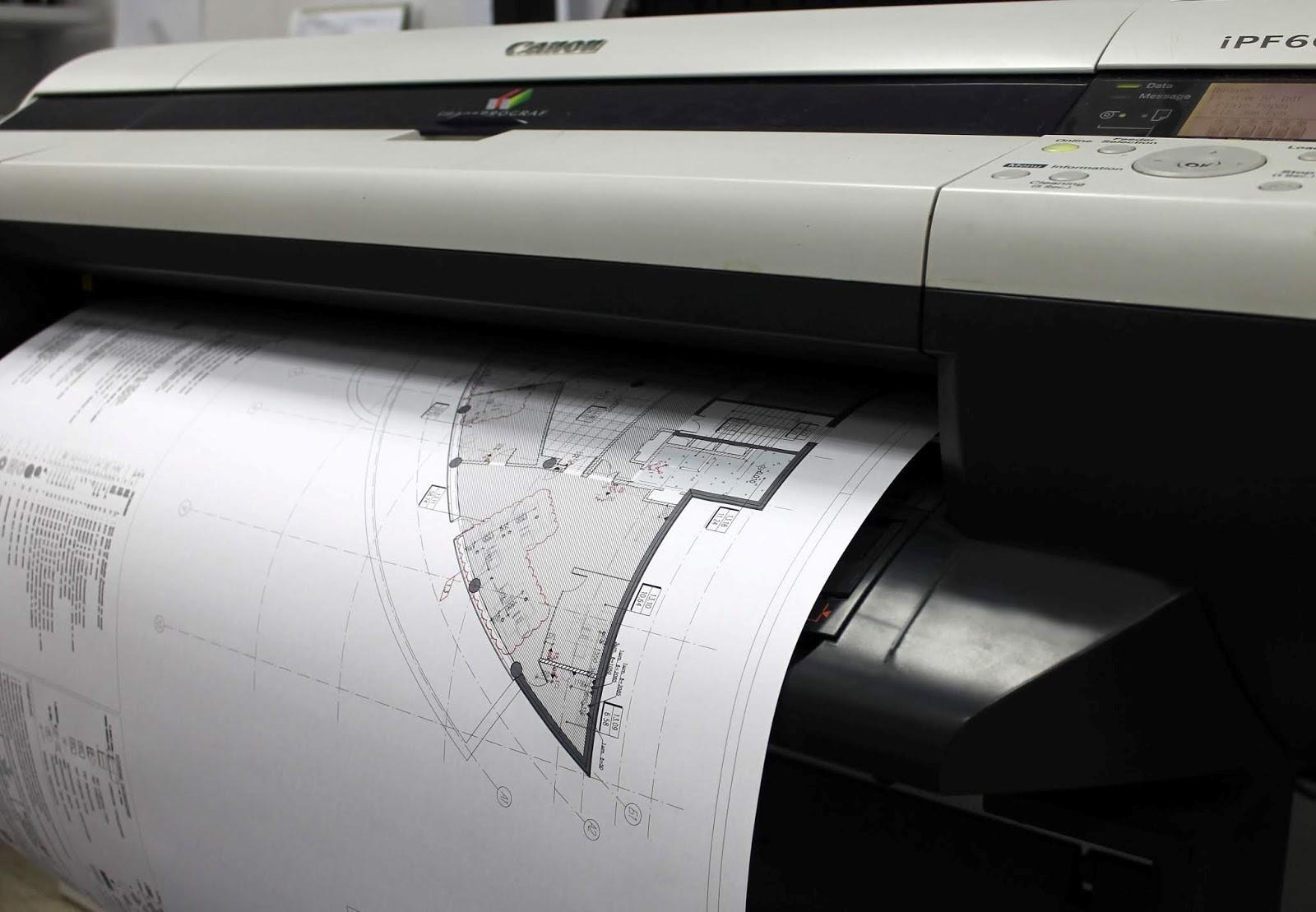 Широкоформатная печать чертежей | фото 2