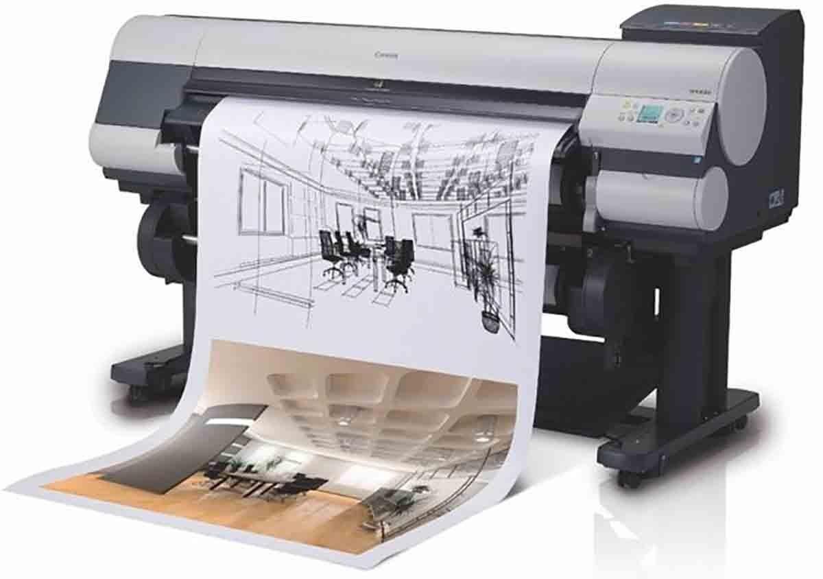 Широкоформатная печать чертежей | фото 6