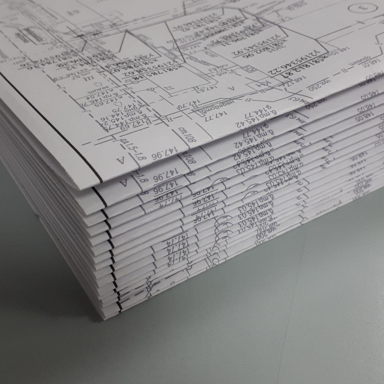 Широкоформатная печать чертежей А1   фото 4