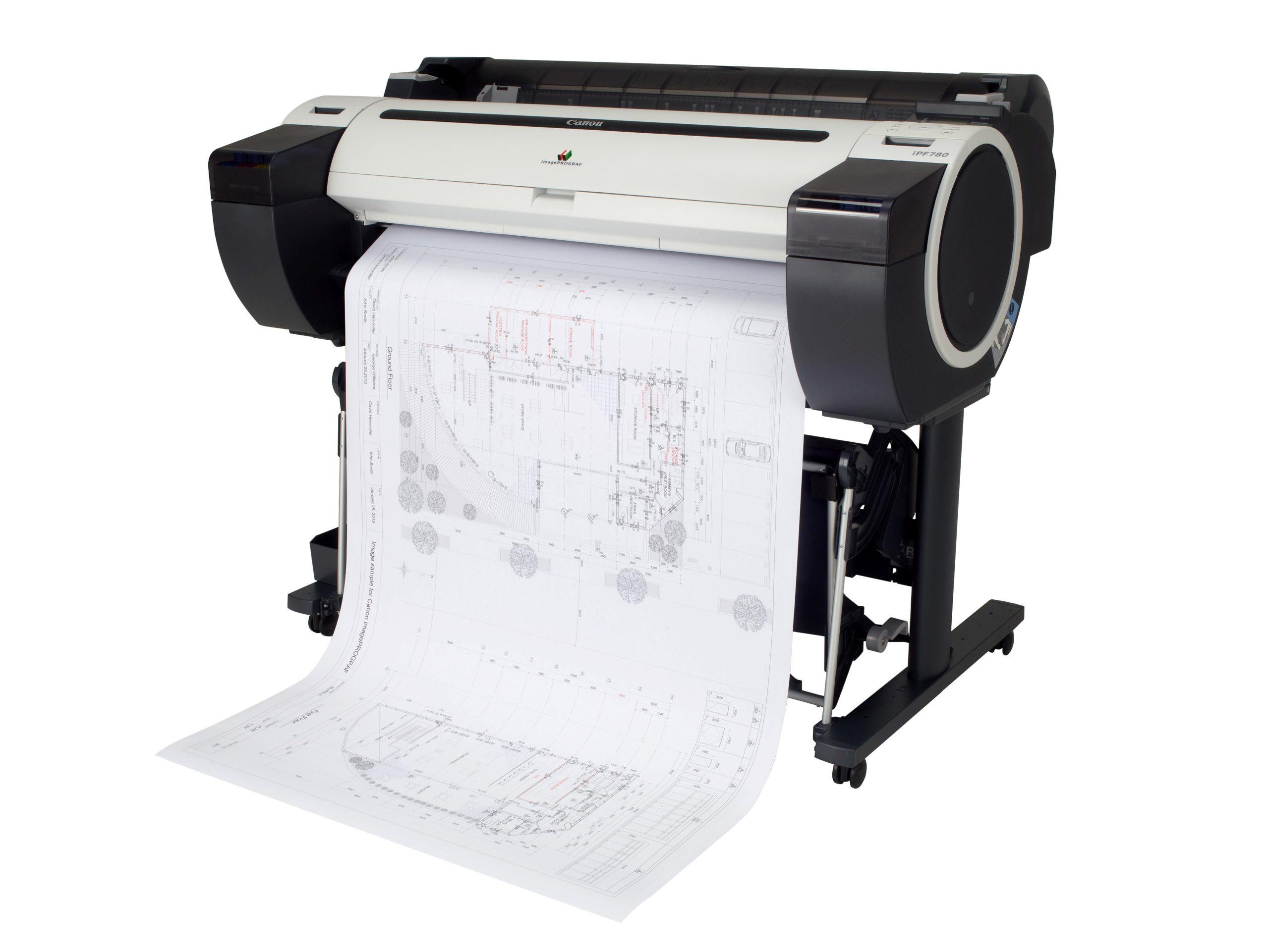 Широкоформатная печать чертежей на плоттере   фото 3