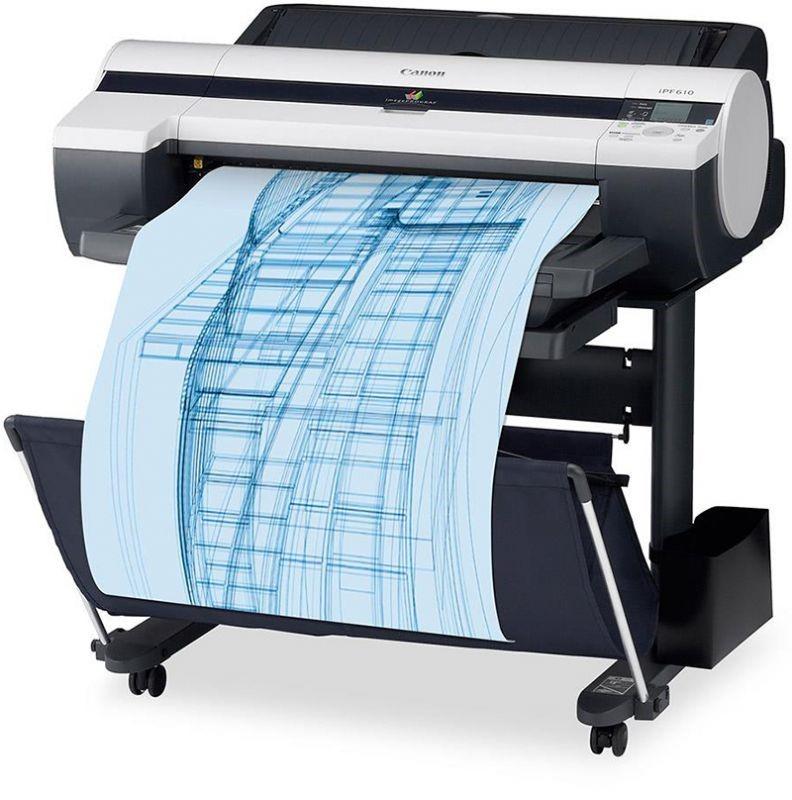 Широкоформатная печать чертежей на плоттере   фото 6