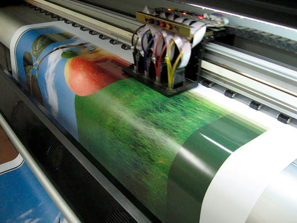 Широкоформатная печать на бумаге   фото 3