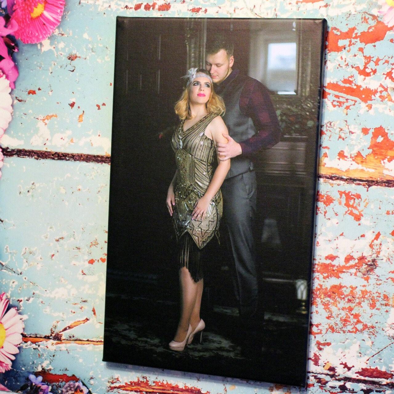 Широкоформатная печать на холсте портретов | фото 7