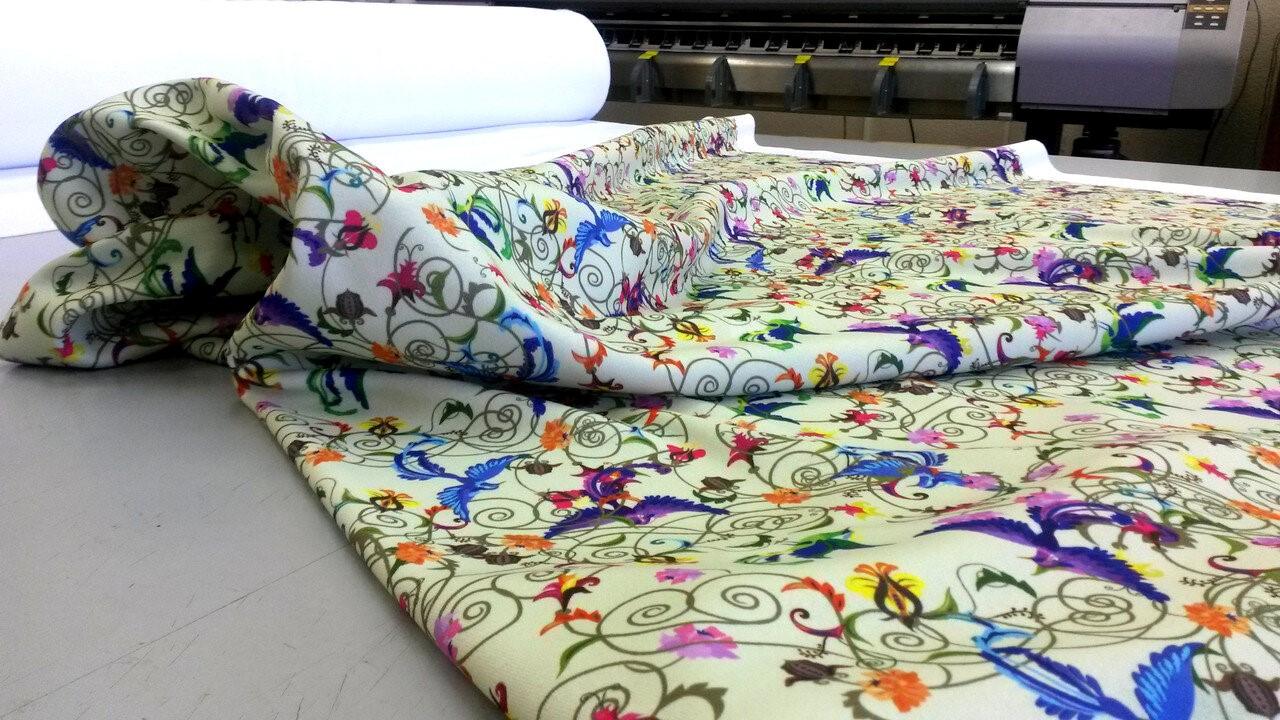 Широкоформатная печать на ткани | фото 2