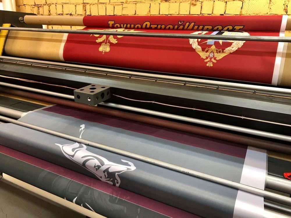 Широкоформатная печать на ткани | фото 3
