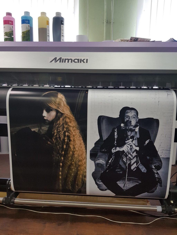 Широкоформатная печать плакатов А2   фото 1