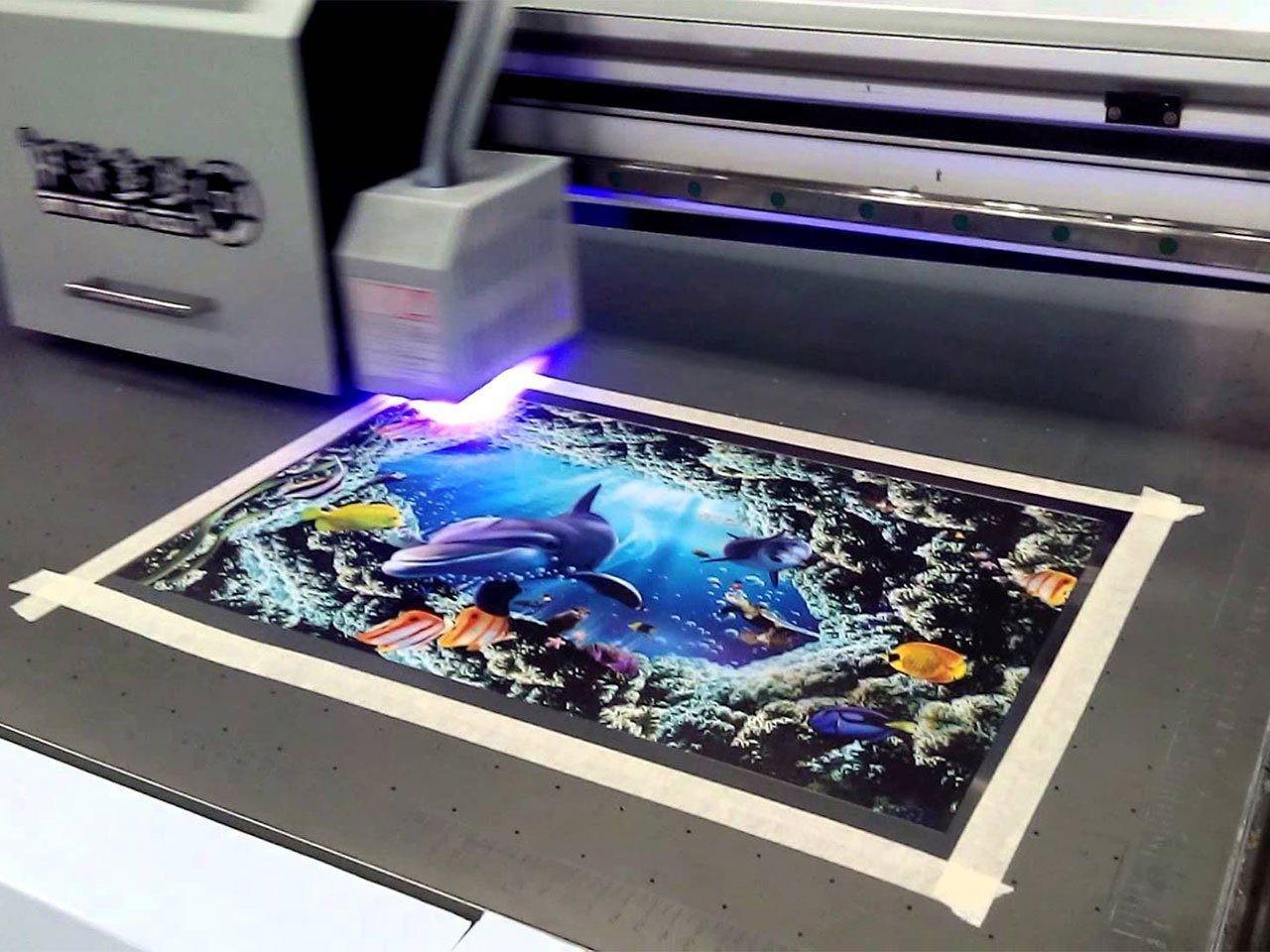 Ультрафиолетовая широкоформатная печать | фото 2