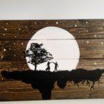 Печать картин на дереве   фото 2