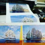 Цветная печать на холсте   фото 4